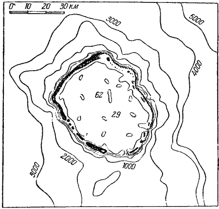 Атолл — это кольцо кораллового