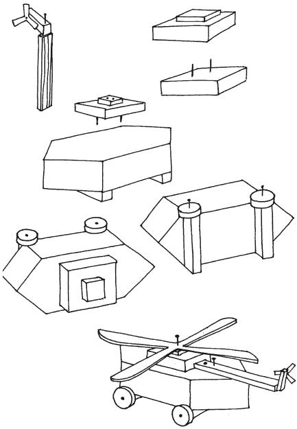 Как сделать вертолёт из картона своими руками