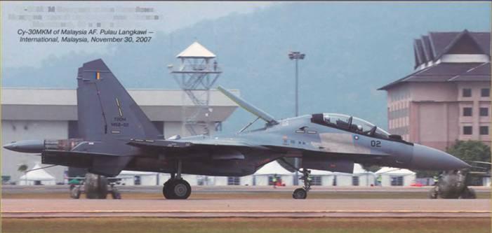 Су 30мкм воздушных сил малайзии
