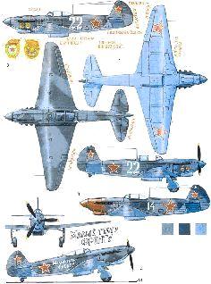 схема бумажного самолета як-9